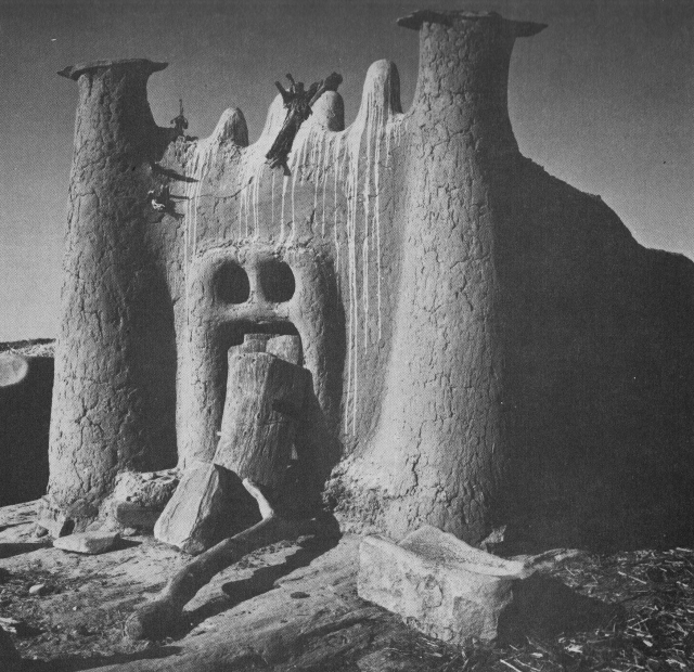 Dogon ancestral shrine
