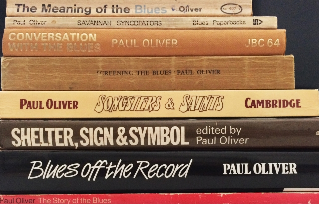 Paul Oliver books